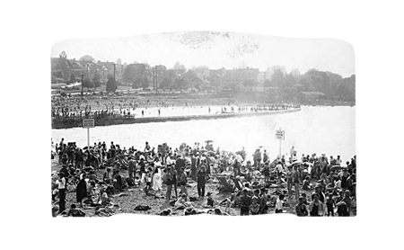 vancouver archives, sunbathers at kitsilano beach, 1937