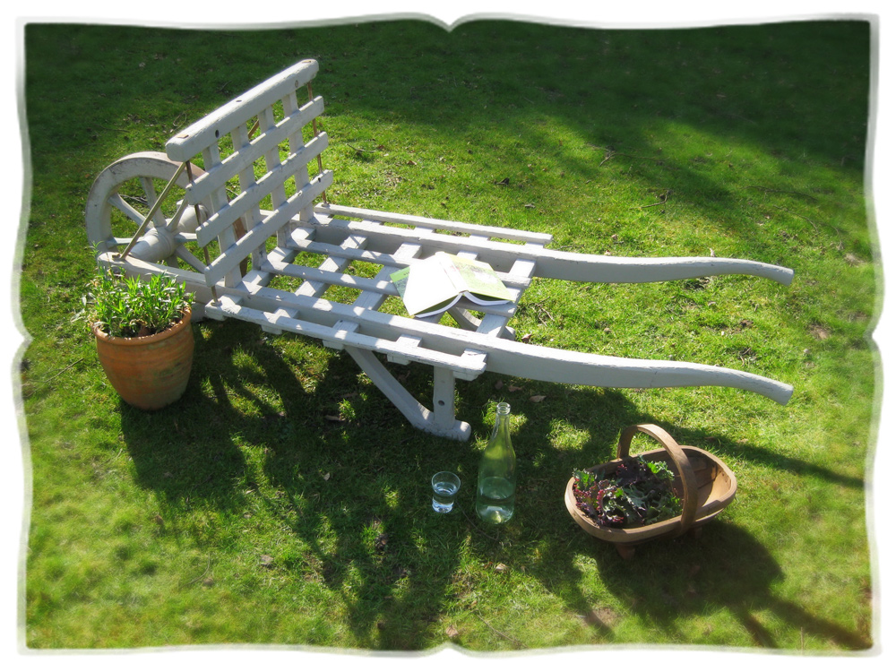 antique wheelbarrow © elisa rathje 2012