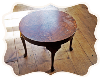 Charming Little Round Table