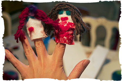 fingerpuppet-making