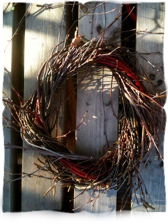 rustic wreath © elisa rathje 2011