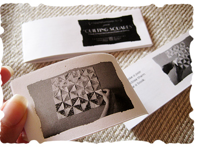 printed quilting guides © elisa rathje 2012