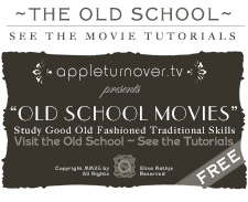 the old school. study the movie tutorials.