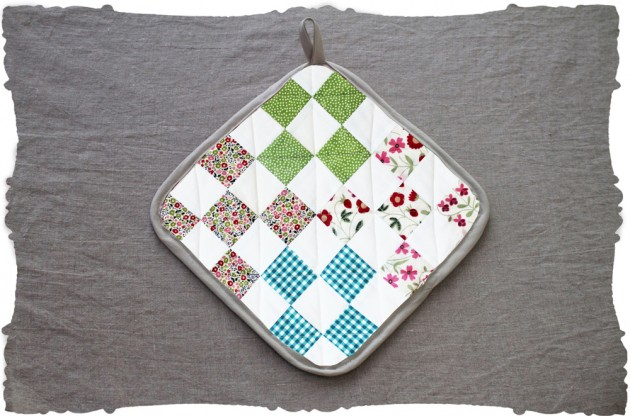 quilting squares liberty floral project kit