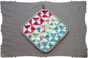 original quilting triangles project kit