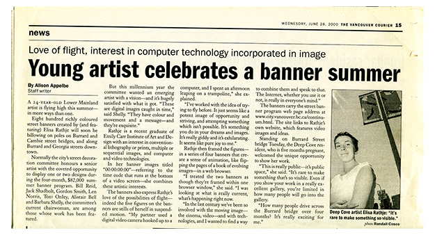 © vancouver courier, 2000