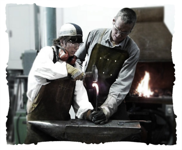 blacksmithing © elisa rathje 2011